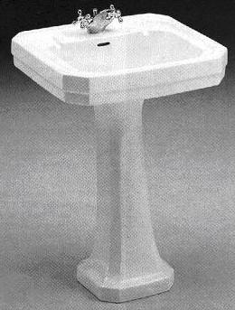 Trent Bathrooms Waverley Victorian Pedestal Wash Basin