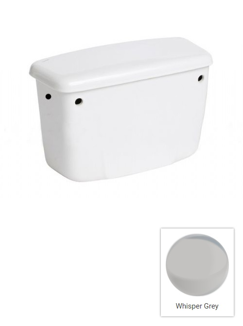 Whisper Grey Coloured Cisterns Nationwide Discontinued