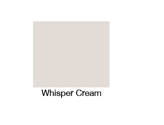 Whisper Cream Bath Panel