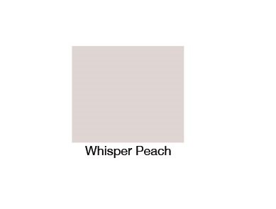 College Whisper Peach 1700mm Front Bath Panel