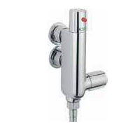 Vertical Exposed Thermostatic Shower Valve